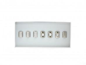 Kralen Selectie 2: White Zirkonia/Pearl/Crystal