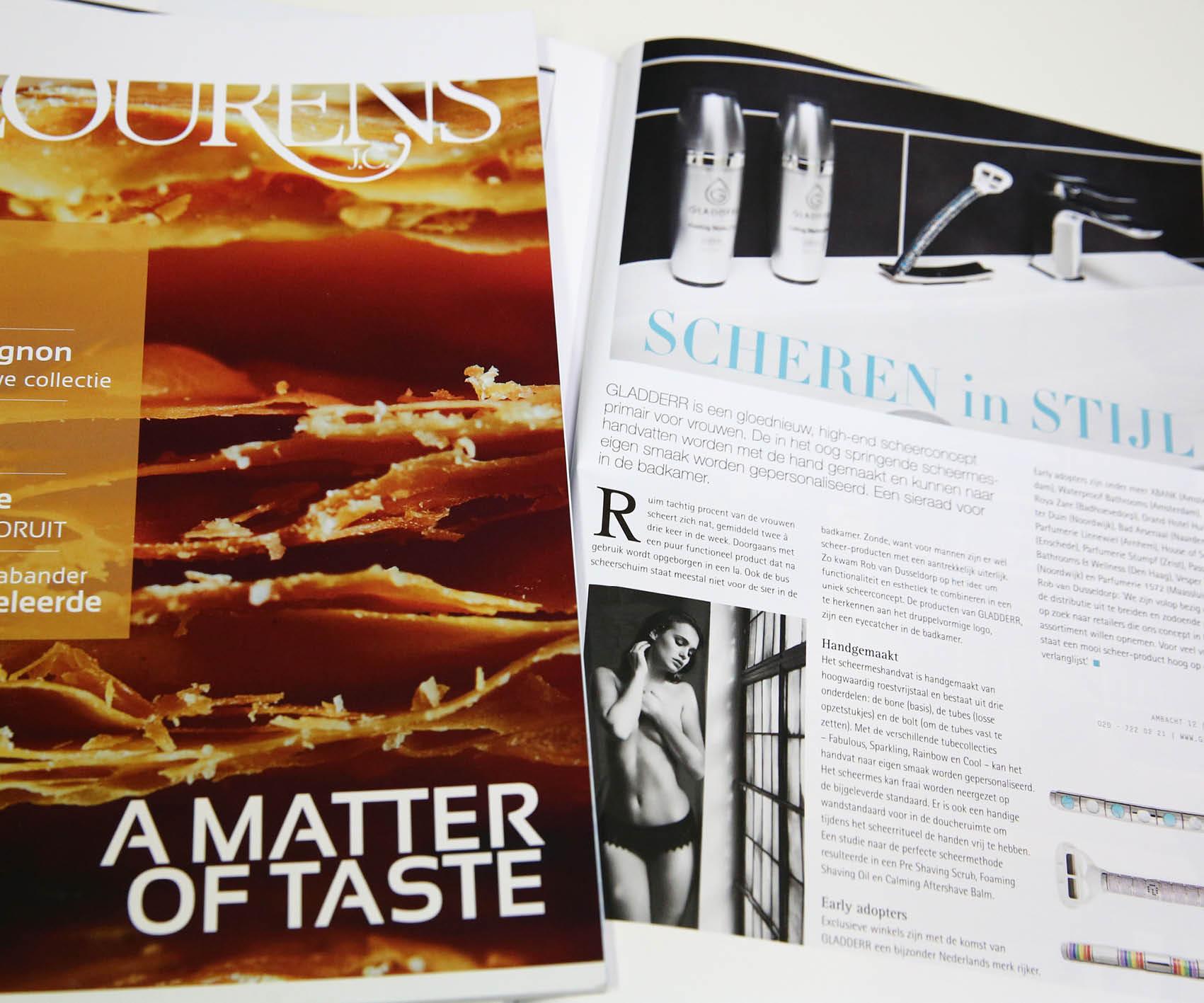Lourens Magazine: Scheren in stijl