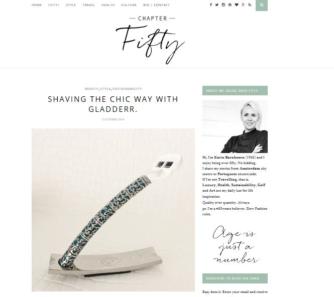 4 artikelen in Chapter fifty: Shaving the Chic way