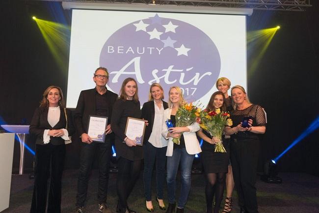 3de Prijs tijdens de Beauty Astir Awards 2017