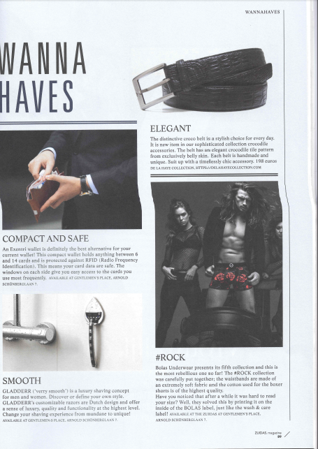 Zuidas Magazine: Smooth